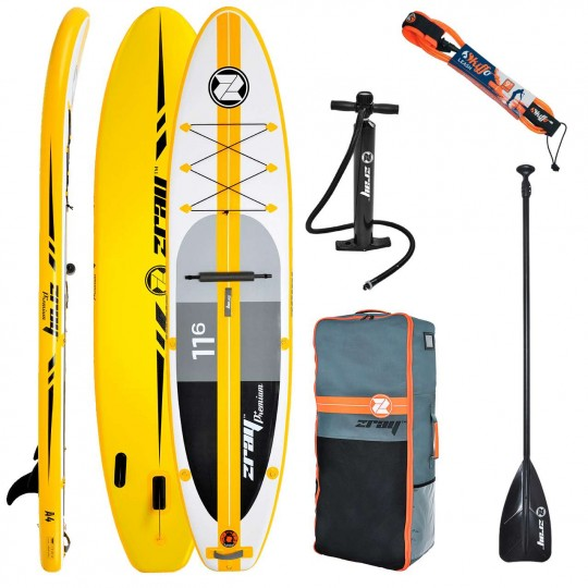 SUP Paddle gonflable Zray Atoll A4  11'6 Pack