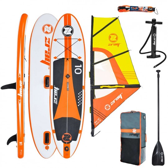 SUP Paddle gonflable Zray Wind W1 10' Pack