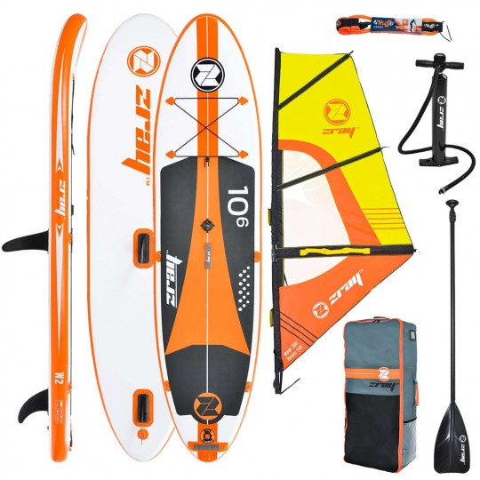 SUP Paddle gonflable Zray Wind W2 10'6 Pack