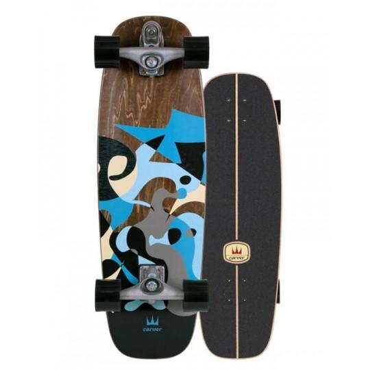 """Carver skate Blue Ray 30"""""""