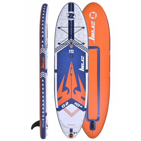 SUP Paddle gonflable ZRAY Dual Deluxe 10'8''