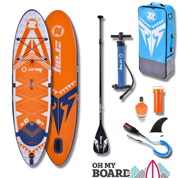 SUP Paddle gonflable enfant Zray X Rider 9' Pack