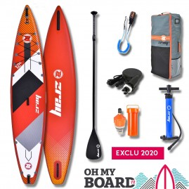 SUP Paddle gonflable Zray Rapid R1 12'6 Pack