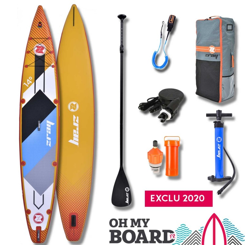 SUP Paddle gonflable Zray Rapid Pro R2 14' Pack