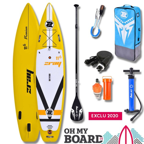 SUP Paddle gonflable Zray Fury F4 11'6 Pack