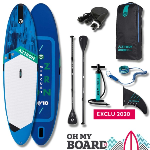 "SUP Paddle gonflable Aztron Mercury 10'10"" Pack"