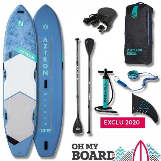 SUP Paddle gonflable Aztron Nebula 12'10 Pack