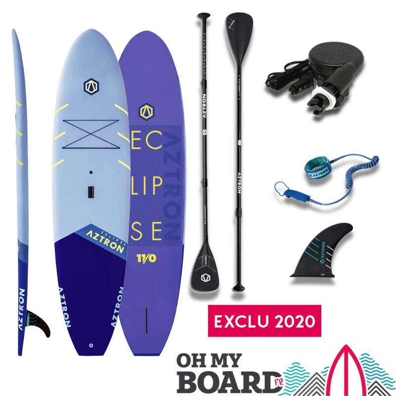 "SUP Paddle rigide Aztron Eclipse 11"" Pack"
