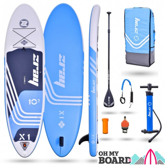 SUP Paddle gonflable Zray Rider X1 10'2 Pack 2021