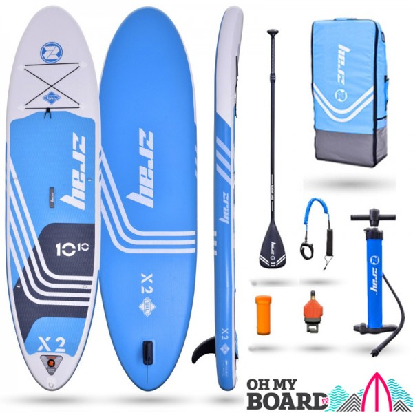 SUP Paddle gonflable Zray Rider X2 10'10 Pack 2021