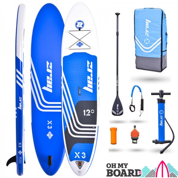SUP Paddle gonflable Zray Rider X3 12' Pack 2021