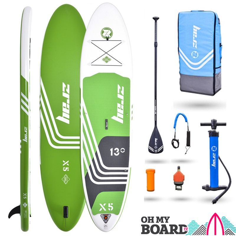 SUP Paddle gonflable Zray Rider X5 13' Pack 2021