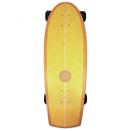 """Slide Surfskate Quad Sunset 30"""""""
