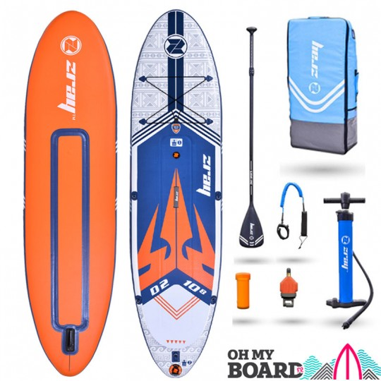 SUP Paddle gonflable Zray Dual D2 10'8 Pack 2021