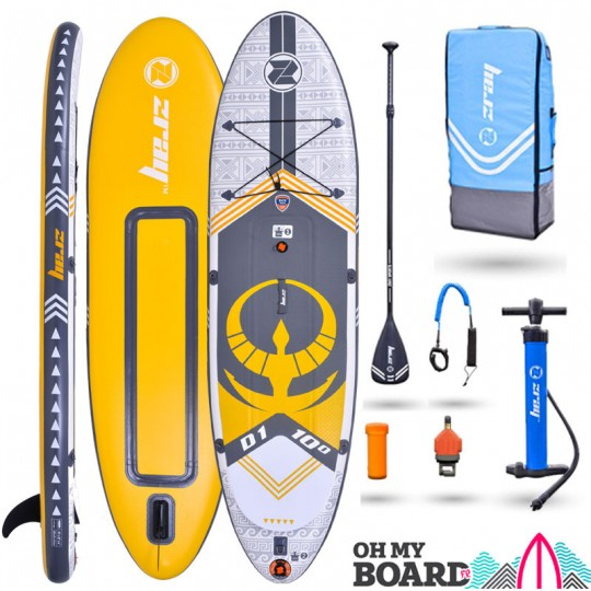 SUP Paddle gonflable Zray Dual D1 10' Pack 2021