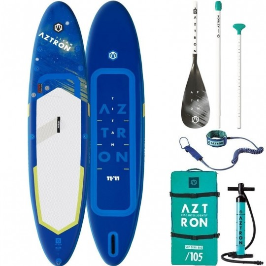 """SUP Paddle gonflable Aztron Titan 11'11"""" Pack"""
