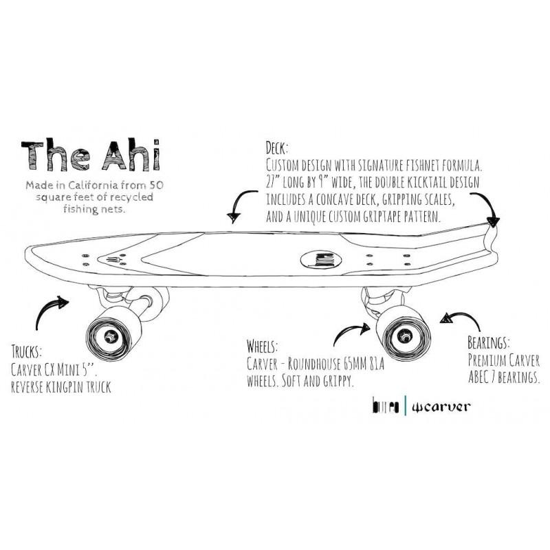 """Carver Skate Bureo 'The Ahi' 27"""""""