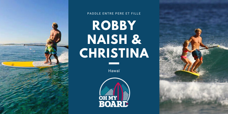 Paddle pour enfant : Robby Naish